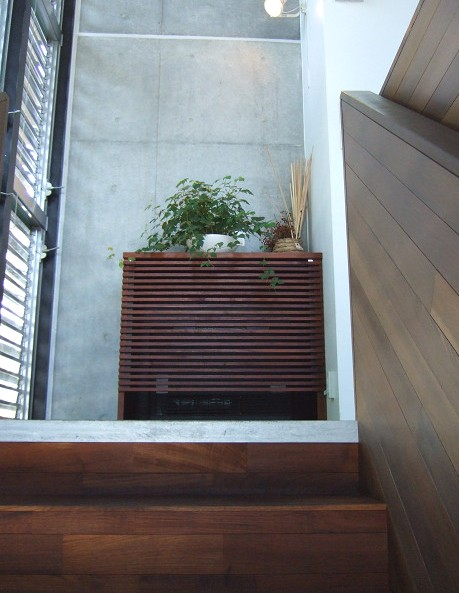 kurkku | クルック cafe 2回へあがる階段