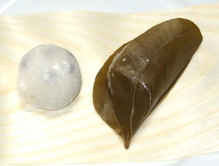 HIGASHIYA 山椒餅 豆大福