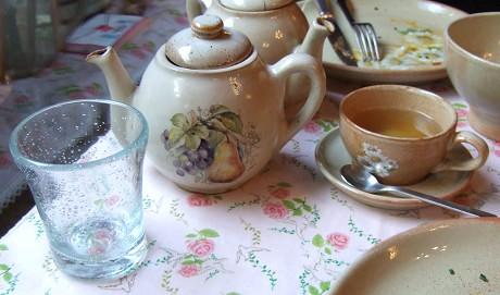 オタンジャディス(Au Temps Jadis) ティーポット ティーカップ お水のグラス
