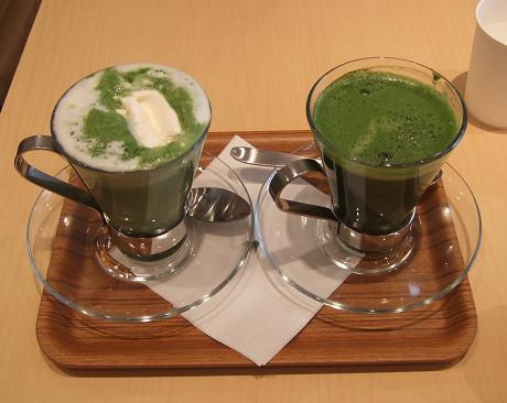 抹茶&日本茶カフェ | nana's green tea グリーンティー ホット 抹茶白玉あずき ホット