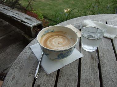 石窯ガーデンテラス カフェオレ