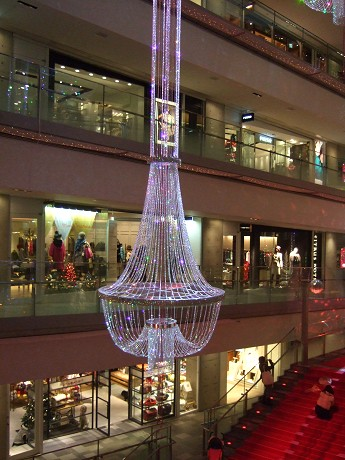Omotesando Hills 表参道ヒルズ LUXURIOUS MOMENT 2008 Ruby Christmas in Omotesando Hills_1