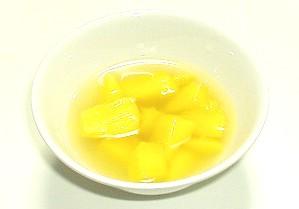マンゴーの生姜シロップ