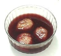 いちじくの赤ワイン煮