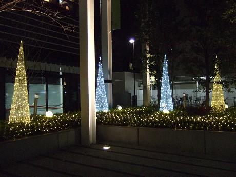 クリスマスイルミネーション(ウインターイルミネーション) 水天宮前