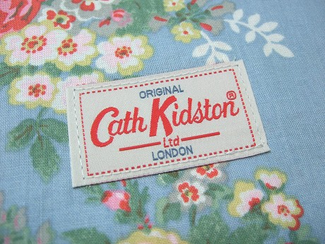 Cath Kidston キャスキッドソン HOLIDAY BAG ホリデーバッグ CANDY FLOWERS BLUE キャンディーフラワーズブルー3