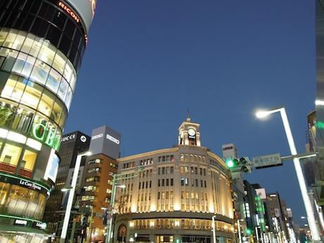 Ginza 4-chome 銀座四丁目 銀座
