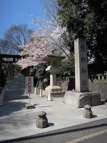 桜 2012 1 東郷神社・東郷記念館 原宿・明治神宮前_1