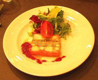 Brasserie Coeur(ブラッセリー クール) エビ・ホタテ・野菜のコンソメゼリー寄せ