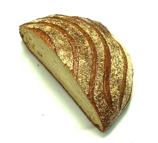 マリアージュ ドゥ ファリーヌ(Mariage de Farine) 自家製ブドウ酵母、ライ麦とフランス産小麦のパンドカンパーニュ