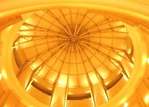 ホテルグランパシフィックメリディアン(お台場) Le Bouquet(ル・ブーケ) ランチ ロビー 天井