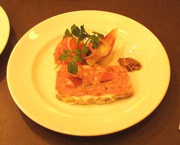 Brasserie Coeur(ブラッセリー クール) パテカンパーニュ