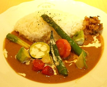 京橋千疋屋 フルーツパーラー 野菜カレー